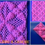 How To Crochet Beautiful Popcorn Stitch