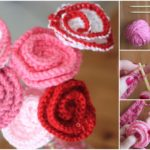How To Knit Roses