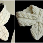 Knit Milky White Cables Scarf – Video Tutorial