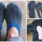 Sew Slippers From old Sweater