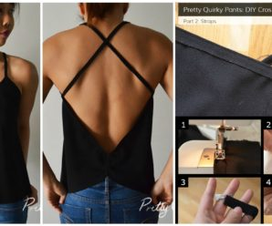 Sew Cross Back top