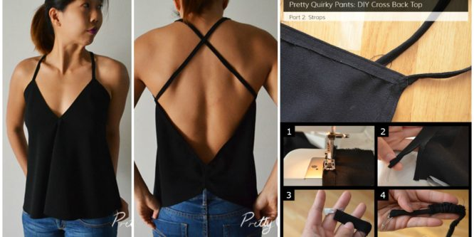 Sew Cross Back top