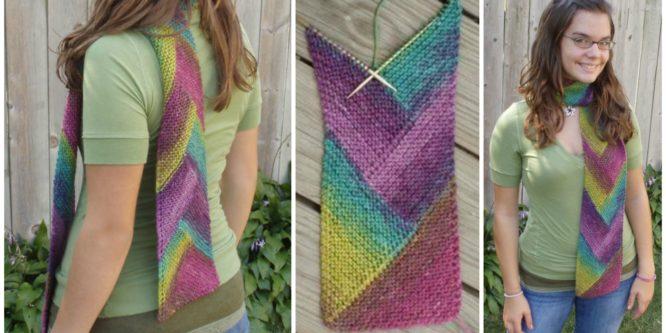 Knit Pioneer Braid Scarf