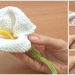 How To Knit A Calla Lilly