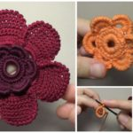 Crocheted Petal Flower – Video