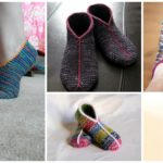 Knit Simple Garter Stitch Slippers