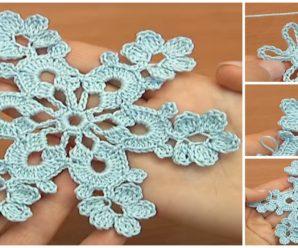Crochet Beautiful Snowflake