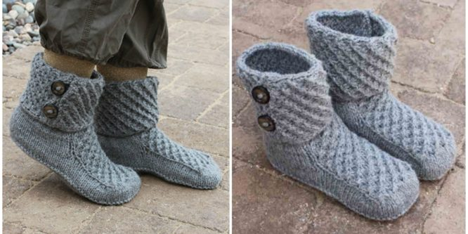 Knit Pretty Boots For Winter
