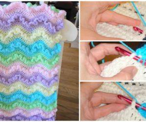 Wiggles Preemie Baby Blanket