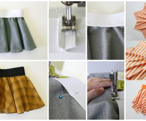 Circle Skirt's Tutorial