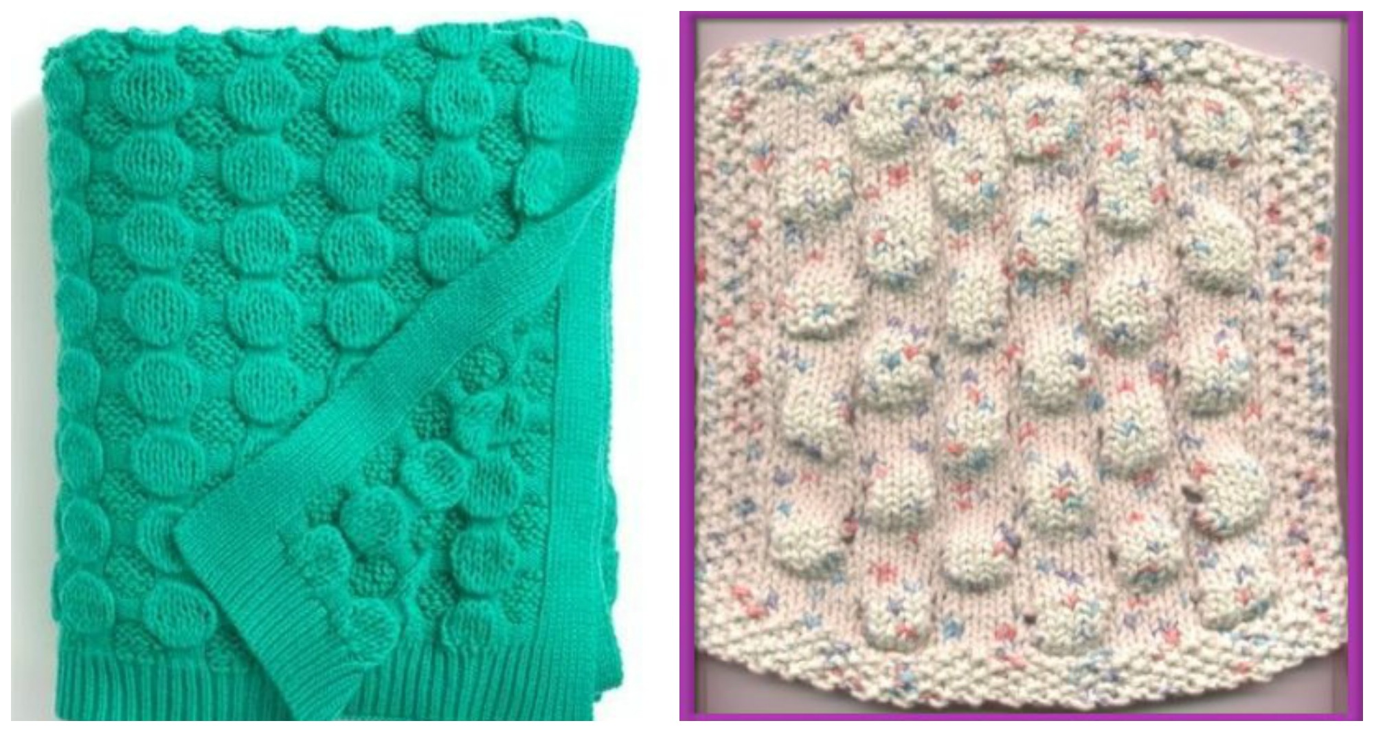 Knitting Stitches Wrap 3 : Knit Bubble Wrap Stitch
