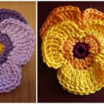 Free Pattern For Violets