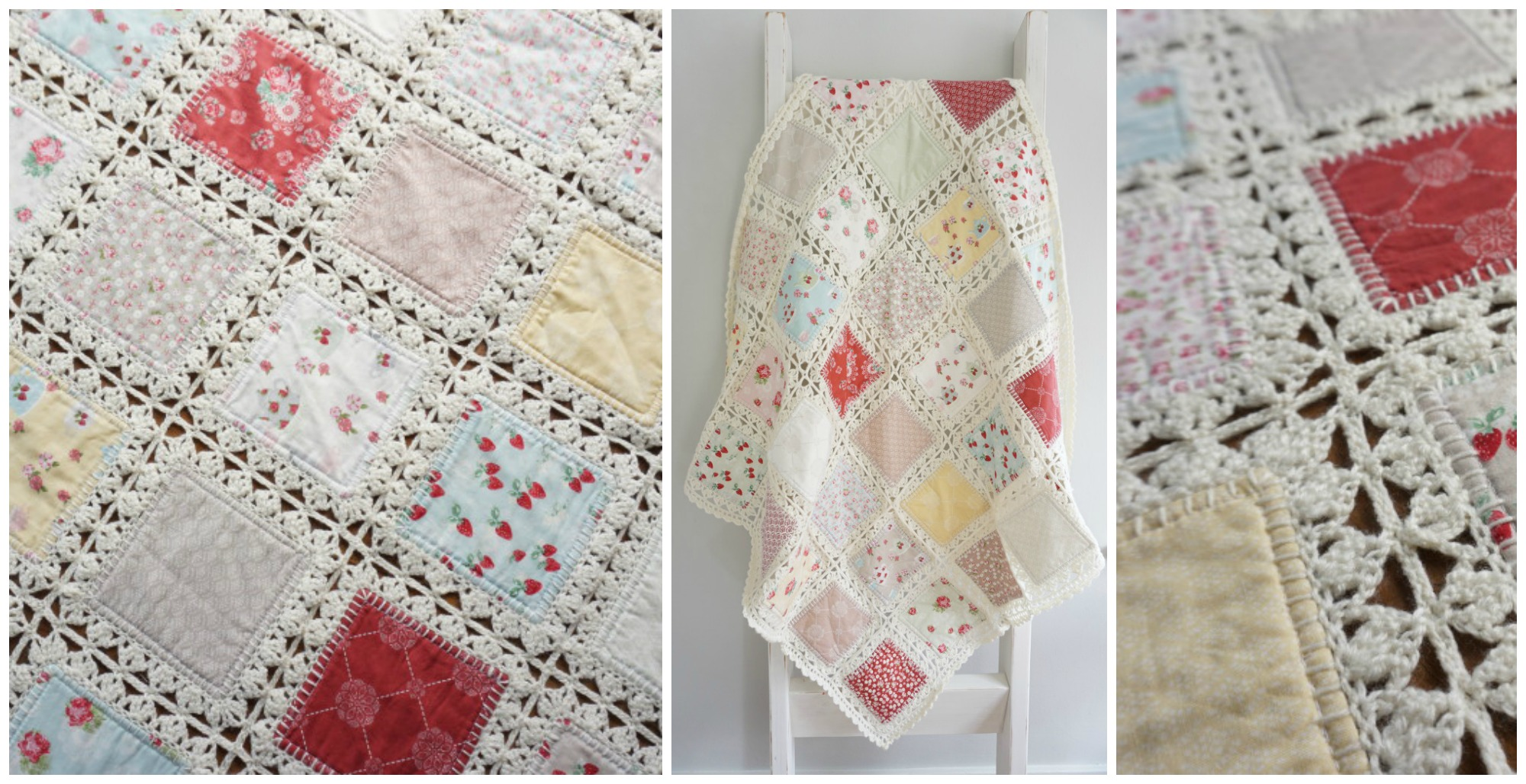 High Tea Crochet Fusion Quilt Tutorial - PRETTY IDEAS