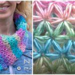 Crochet Stars Scarf