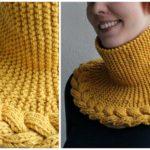 Knit Rosebud Neckwarmer + Norsk