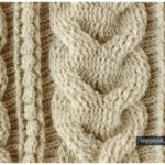 Crochet Celtic Cable Pattern