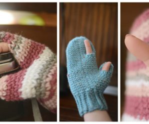 Knit Photography Mittens