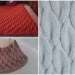 Knit Chunky Cable Blanket