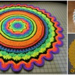 Crochet Ring Rug – Free Pattern