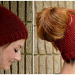 Holey Hat Free Knitting Pattern