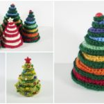 Crochet Mini Christmas Tree