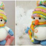 Crochet Snowman – Free Pattern