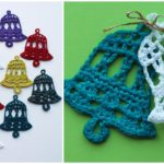 Crochet Bell Decorations