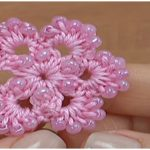 Pink Flower With Beads – Video
