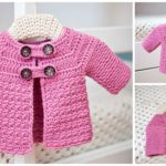 Crochet Buttoned Jacket