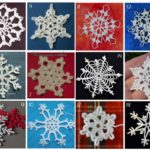 Free 47 Snowflake Crochet Designs