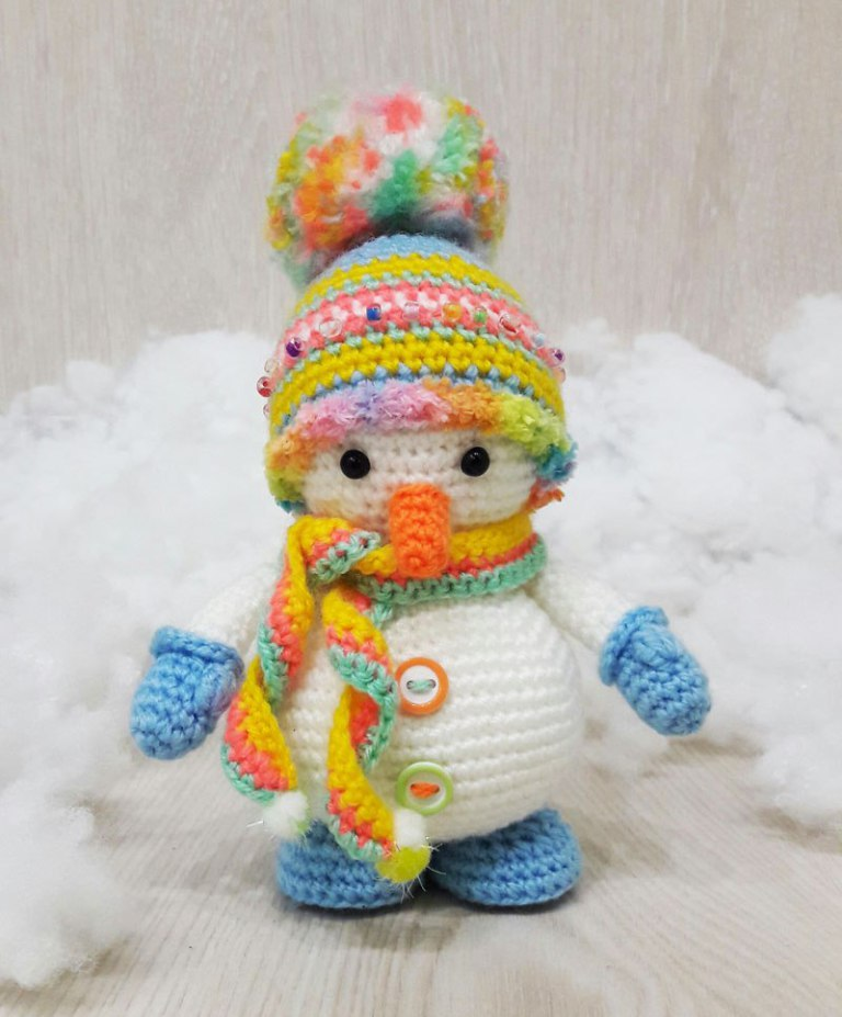 Crochet Patterns Free Snowman : Crochet Snowman ? Free Pattern