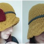 Simple Shells Cloche Hat