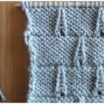 Knit Eiffel Tower Stitch