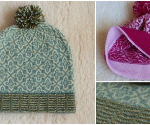 "Knit Hat ""Margit In The Wind"""