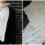 Knit Bubbles Scarf