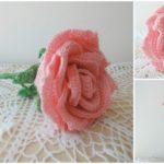 Crochet Big Rose – VIDEO Tutorial