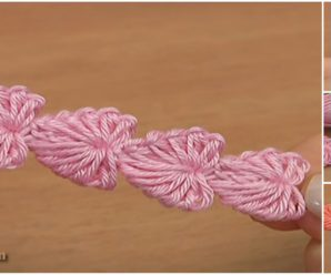 Crochet Mini Hearts String