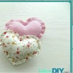 How to Sew Mini Heart Pillow
