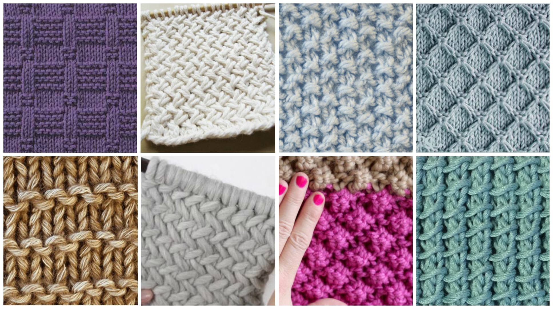 18 Easy Knitting Stitches You Can Use For Any Project Pretty Ideas