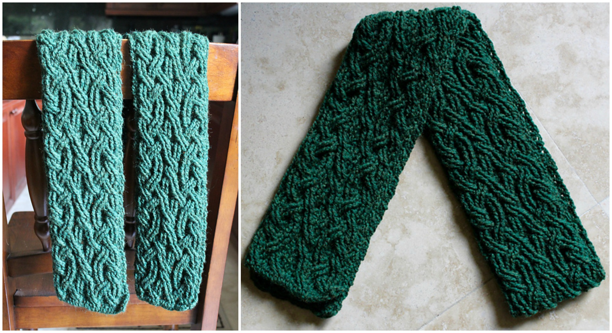 Caste Cable Scarf