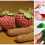 Crochet Strawberry, Raspberry and Apple