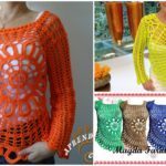 Crochet Stylish Blouse