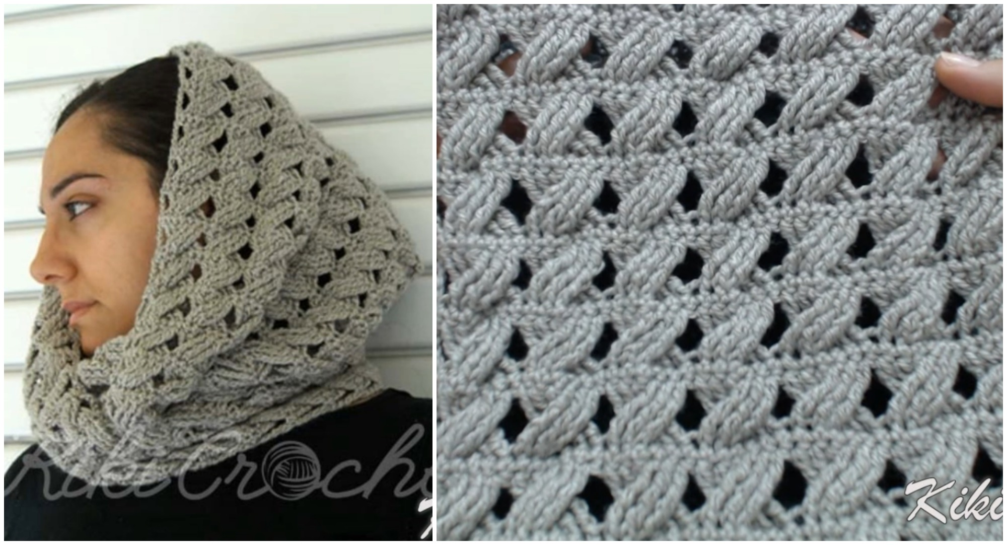 Crochet Cable Stitch Infinity Scarf Pretty Ideas