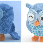 Crochet Cute Owl – Free Pattern