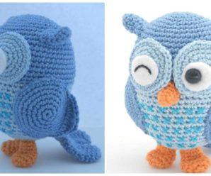 Crochet Cute Owl – Free Pattern