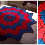 Crochet Spiderman Afghan