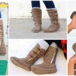 UGG Style Crochet Boots