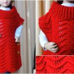 Free Crochet Tutorial For Poncho