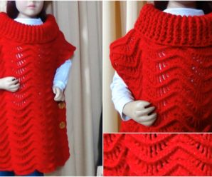 Free Crochet Tutorial For Poncho