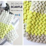 Crochet Zig Zag Puff Stitch